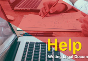Will Work on Your Legal Research, Legal Writing, and Legal Drafting .