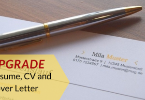 Write and Upgrade Resume , CV and Cover Letter .