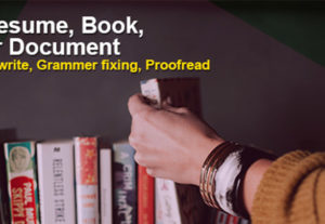 Professionally Proofread your Document, Resume, or Book .