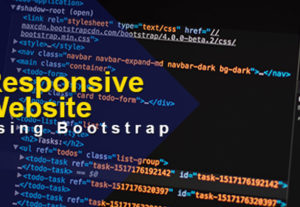 Responsive Custom Website using HTML and CSS Bootstrap Code